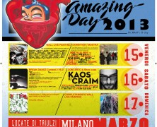 AMAZING DAY 2013 / Wall Painting / MILANO.