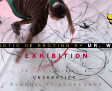 Semiotic of bboying by MR.WANY Exhibition