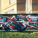 muro Graffuturim by Mr.Wany